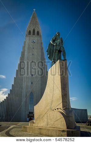 Reykjavik landmarks