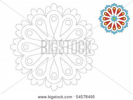 The Moravia ornament _coloring_2