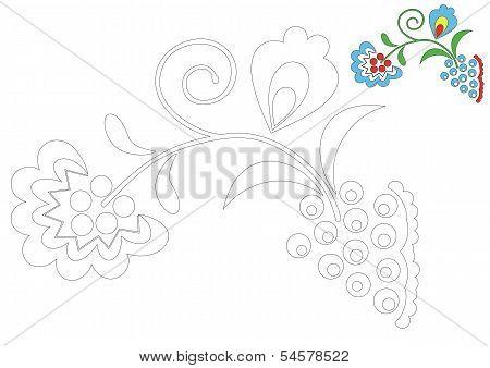 The Moravia ornament _coloring_6