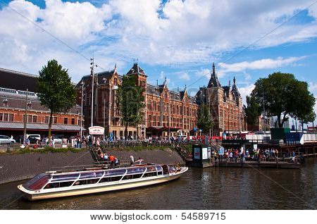 Amsterdam Central Railway Station