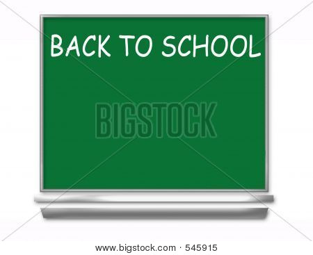 Back To School Chalkboard - Kids