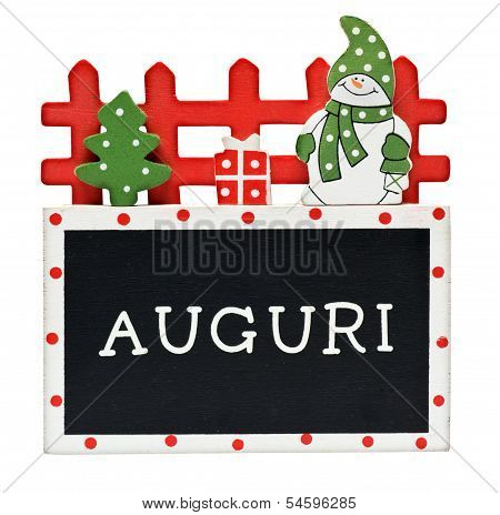 Italian Christmas Greeting