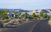 pic of trailer park  - Large RV Park in Northern Arizona  - JPG