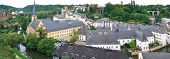 picture of three tier  - Panorama of the old city of Luxembourg it consists of three tiers it - JPG