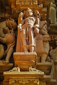 image of kandariya mahadeva temple  - Human Sculptures of Kandariya Mahadeva Temple - JPG