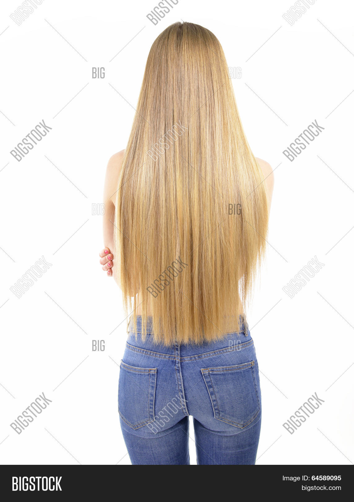 long hot hair from rear view long layered bob haircuts