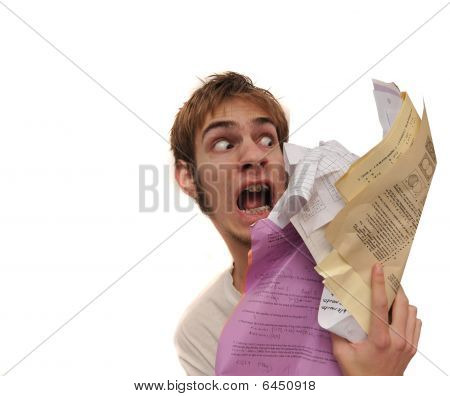 Attack Of The Paperwork