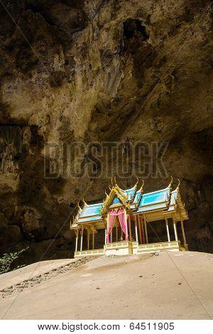 Royal pavilion in the Phraya Nakhon Cave, Prachuap Khiri Khan, Thailand