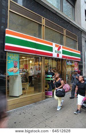7-eleven, New York