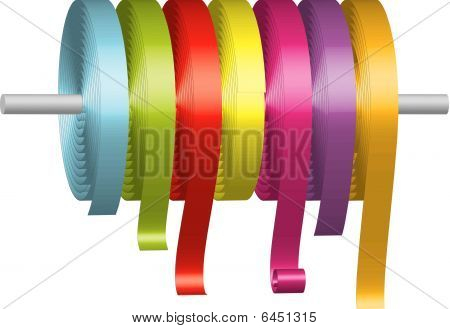 Colorful Ribbons