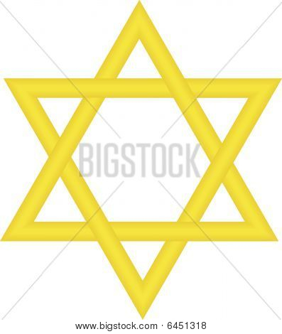 Gold Star Of David