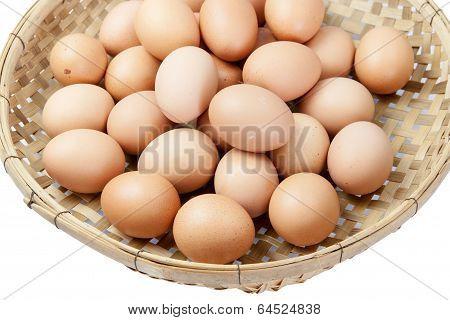 Eggs In The Winnowing Basket