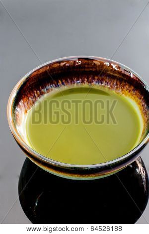 Cup Of Matcha Traditional Japanese Tea
