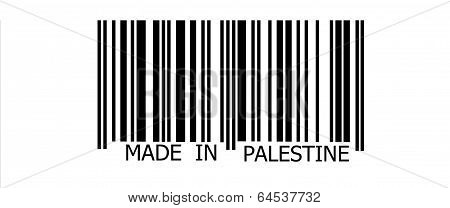 Made In Palestine On Barcode