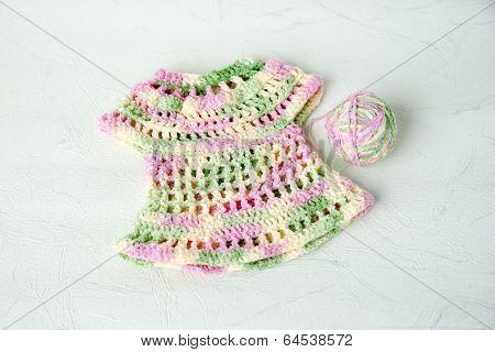 Fishnet Dress Knitted Wool