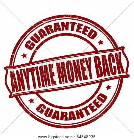 Anytime Money Back