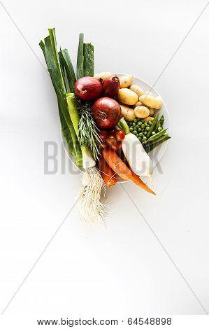 Vegetables Raw
