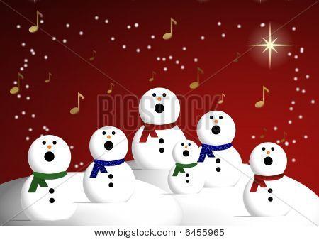 Coro de boneco de neve