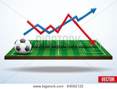 Concept statistics about the game of soccer