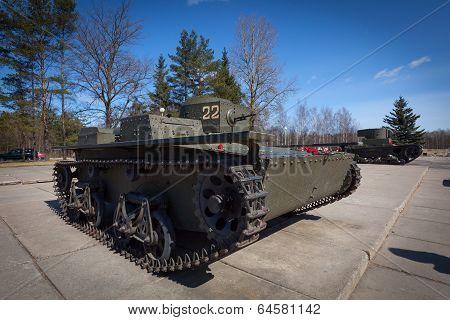 T-38 - Soviet small amphibious tank