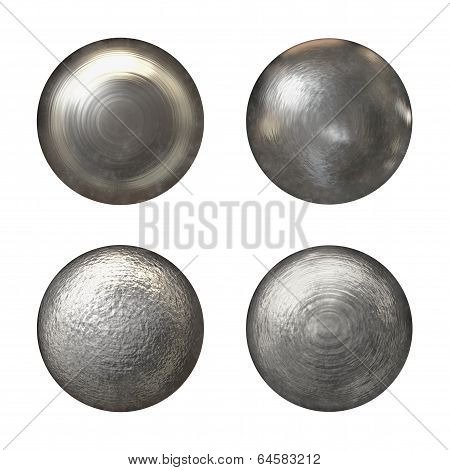 Steel Rivet Heads Collection