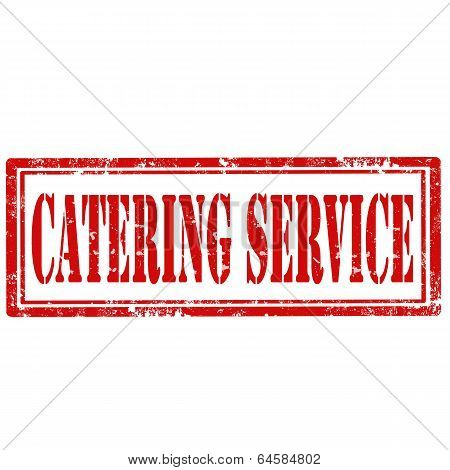 Catering Service-stamp