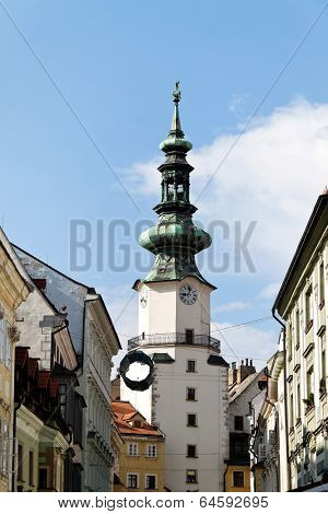 bratislava in the slovak republic to the european union. michalestor