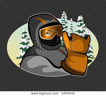 Skier Icon
