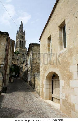 France- Sainte Emillion Cloisters Close Up