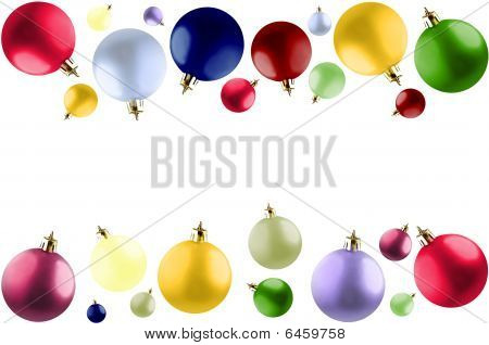 Colorful Christmas Balls.
