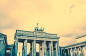 pic of rebuilt  - Brandenburg Gate  - JPG
