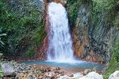 foto of negro  - Big beautiful waterfall in Dumaguete - JPG