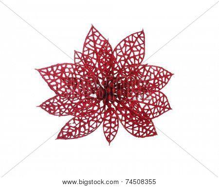 Christmas decoration  isolated on white