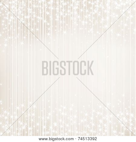 Bright Background With Stars. Festive Design. New Year, Christmas, Wedding Style