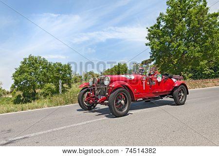 Alfa Romeo 6C 1500 Mms (1928) In Mille Miglia 2014