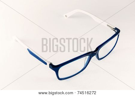 Blue-white Women Eyeglasses