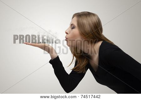Girl Blows Away The Problems