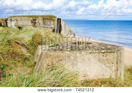 Tobruk Bunker Ww2 Utah Beach