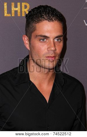 LOS ANGELES - OCT 22:  Max George at the Delta Air Lines And Virgin Atlantic #Flysmart Celebration at The London Hotel on October 22, 2014 in West Hollywood, CA