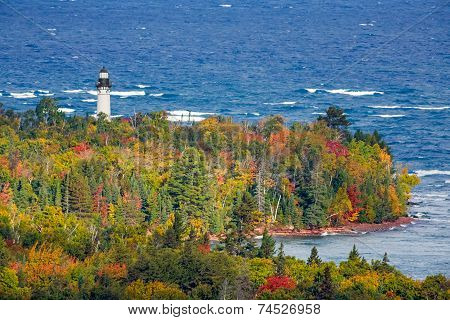 Au Sable Light In Autumn