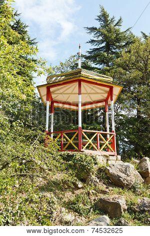 Belvedere In Nikitsky Botanical Garden
