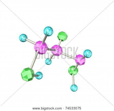 The molecular formula of beautiful crystal