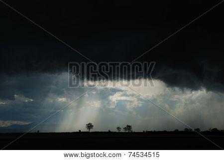 Black Storm Clouds