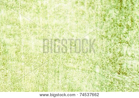 Green Tatter Light Natural Linen Texture For The Background