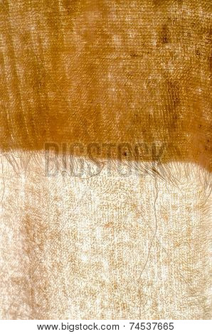 Brown Tatter Light Natural Linen Texture For The Background