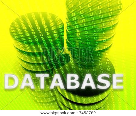 Database Data Storage