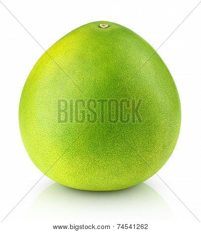 Pomelo Citrus Fruit Isolated On White