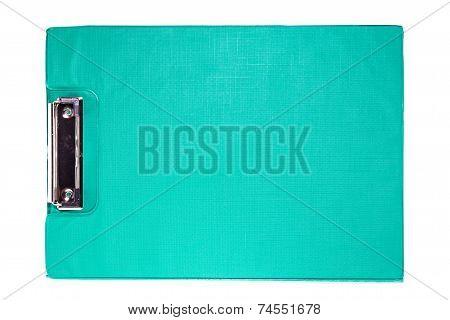 Green Clip Board