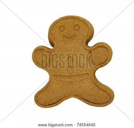 Freshly baked Gingerbread Man