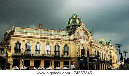 Prague. Municipal House